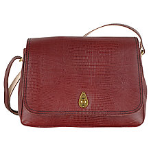 Buy Tula Medium Leather Lizard Across Body Bag Online at johnlewis.com