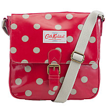 Buy Cath Kidston Mini Satchel Bag, Button Spot Online at johnlewis.com