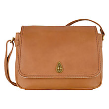 Buy Tula Medium Natural Calf Originals Leather Across Body Bag, Tan Online at johnlewis.com