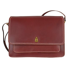 Buy Tula Large Saddle Leather Satchel Bag Online at johnlewis.com