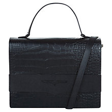 Buy Hobbs Brunswick Leather Grab Bag Online at johnlewis.com