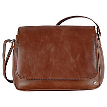 Buy Tula Veg Tan Leather Cross Body Bag, Brown Online at johnlewis.com