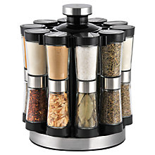Buy John Lewis Filled Spice Rack, 20 Jar Online at johnlewis.com