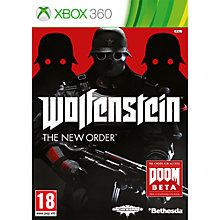 Buy Wolfenstein: The New Order, Xbox 360 Online at johnlewis.com