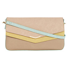Buy Oasis Sassi Double Flap Clutch Bag, Multi Online at johnlewis.com