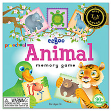 Buy Eeboo Pre-School Animal Memory Game Online at johnlewis.com