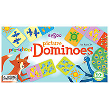 Buy Eeboo Pre-School Picture Dominoes Online at johnlewis.com