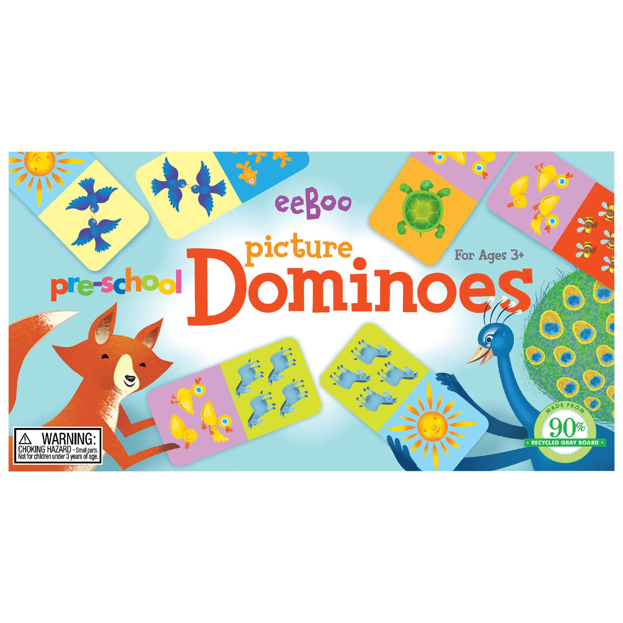 Eeboo Eeboo Pre-School Picture Dominoes