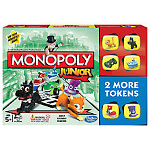 Buy Monopoly Junior Game Online at johnlewis.com