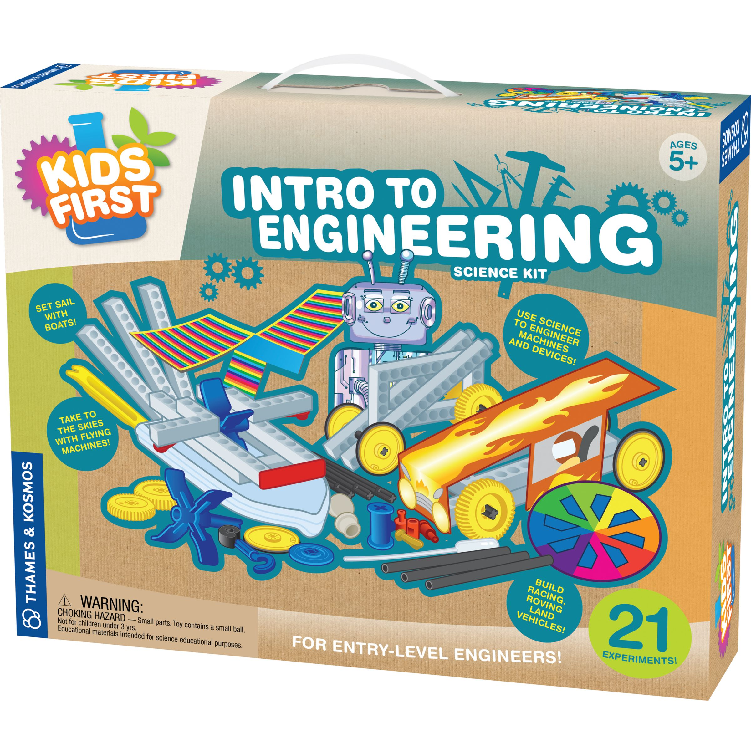 Thames & Kosmos Thames & Kosmos Little Labs Intro To Engineering Science Kit