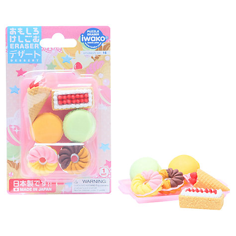 Buy Iwako Puzzle Eraserz, Assorted Online at johnlewis.com