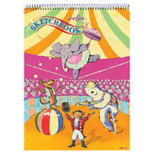 Buy Eeboo Circus Sketchbook Online at johnlewis.com