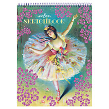 Buy Eeboo French Dancer Sketchbook Online at johnlewis.com