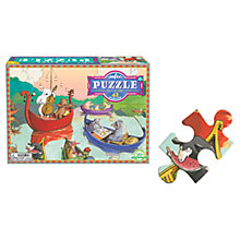 Buy Eeboo Party On The Lake Jigsaw Puzzle Online at johnlewis.com