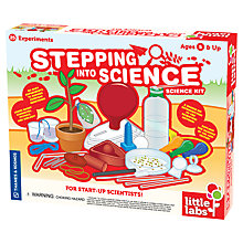 Buy Thames & Kosmos Little Labs Stepping Into Science Kit Online at johnlewis.com
