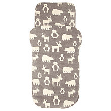 Buy John Lewis Baby Winter Animal Footmuff Online at johnlewis.com