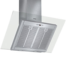 Buy Bosch DWK098E51B Chimney Cooker Hood, Brushed Steel Online at johnlewis.com