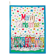 Buy Cath Kidston Merry Christmas Tea Towel Online at johnlewis.com