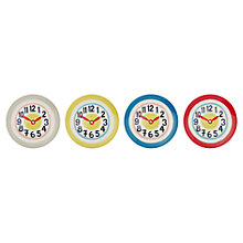 Buy Cath Kidston Clocks Side Plates, Set of 4 Online at johnlewis.com