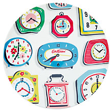 Buy Cath Kidston Clocks Plate Online at johnlewis.com