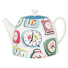 Buy Cath Kidston Clocks Tea Pot Online at johnlewis.com