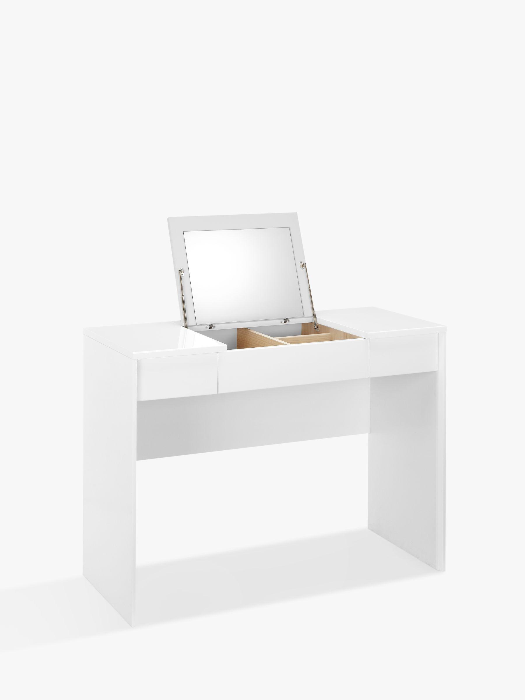 Buy john lewis napoli gloss dressing table john lewis for White dressing table