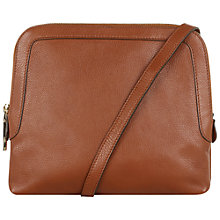 Buy Hobbs Gloucester Leather Across Body Bag Online at johnlewis.com