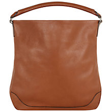 Buy Hobbs Gloucester Leather Hobo Bag Online at johnlewis.com