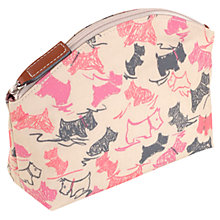 Buy Radley Doodle Dog Small Cosmetic Case, Pink Online at johnlewis.com