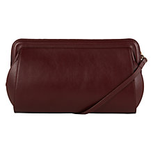 Buy Hobbs Rochester Leather Clutch Bag Online at johnlewis.com