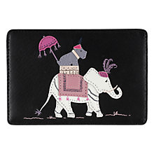 Buy Radley Express Travel Leather Card Holder, Black Online at johnlewis.com