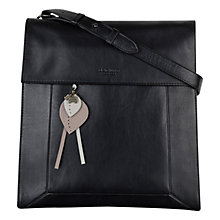 Buy Radley Border Large Leather Across Body Bag Online at johnlewis.com