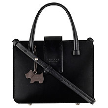 Buy Radley Aldwych Mini Leather Grab Bag, Black Online at johnlewis.com