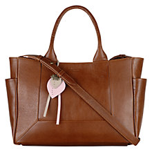 Buy Radley Border Medium Leather Grab Bag Online at johnlewis.com