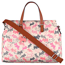 Buy Radley Doodle Dog Medium Grab Bag, Pink Online at johnlewis.com