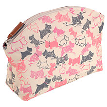 Buy Radley Doodle Dog Medium Cosmetic Case, Pink Online at johnlewis.com