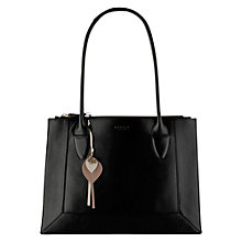Buy Radley Border Double Zip Top Leather Tote Bag Online at johnlewis.com