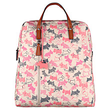 Buy Radley Doodle Dog Large Backpack, Pink Online at johnlewis.com