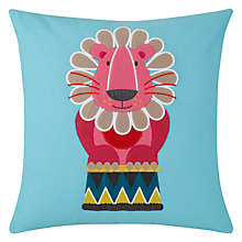 Buy Kas Lion Cushion Online at johnlewis.com