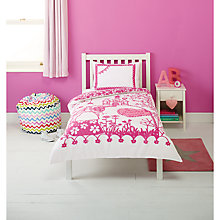 Buy little home at John Lewis Fairy Princess Duvet Cover and Pillowcase Set, Single Online at johnlewis.com
