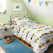 Buy Emma Bridgewater Men At Work Single Duvet Cover and Pillowcase Set Online at johnlewis.com