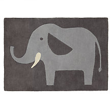 Buy little home at John Lewis Animal Fun Elephant Rug Online at johnlewis.com