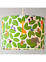 little home at John Lewis Animal Fun Jungle Lampshade