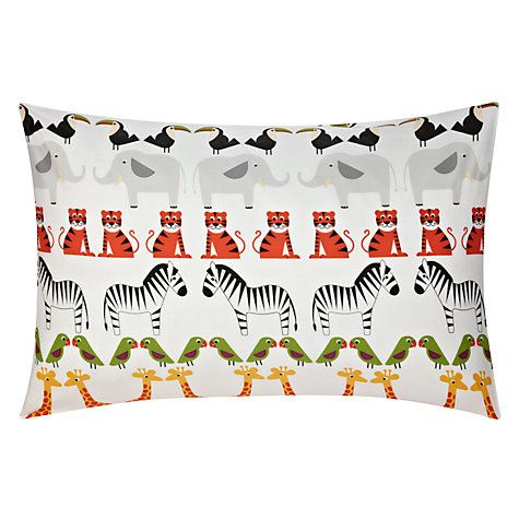 Buy little home at John Lewis Animal Fun Two By Two Animal Duvet Cover and Pillowcase Set Online at johnlewis.com
