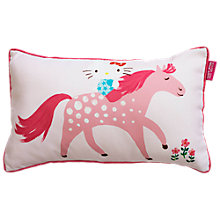Buy Hello Kitty Pony Pastures Cushion Online at johnlewis.com