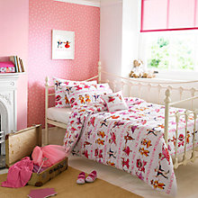 Buy Emma Bridgewater Dancing Mice Single Duvet Cover and Pillowcase Set Online at johnlewis.com