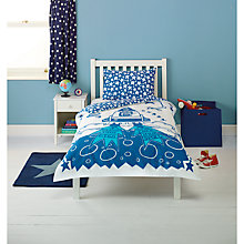 Buy John Lewis Space Duvet Cover and Pillowcase Set, Single Online at johnlewis.com