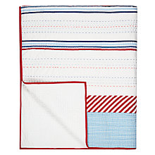 Buy little home at John Lewis Boats on The Blue Sea Quilted Bedspread Online at johnlewis.com