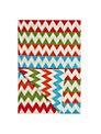 little home at John Lewis Animal Fun Knitted Chevron Throw