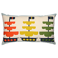 Buy Orla Kiely Boats Out At Sea Cushion Online at johnlewis.com